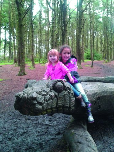 The snake at Beacon Fell Country Park