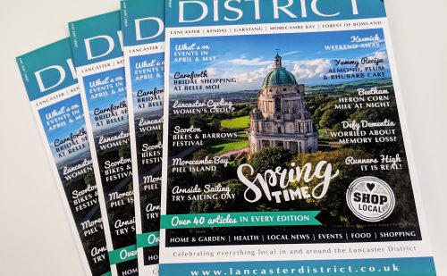Lancaster District's Glossy Lifestyle Magazine