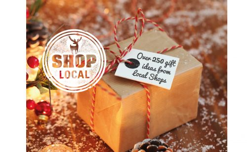 SHOP LOCAL with our 20 page Christmas Gift Guide