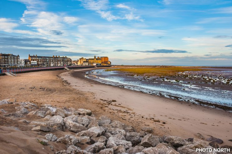 South Beach, Morecambe, Lancashire, England.
