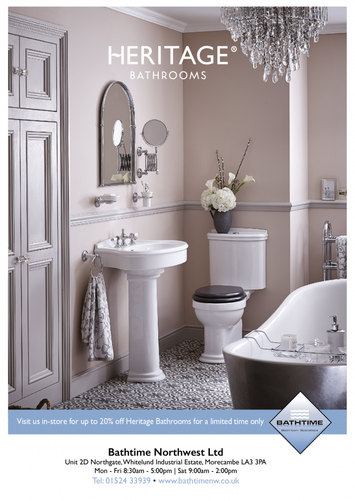 Up to 20% off Heritage Bathrooms - Bathtime - Lancaster
