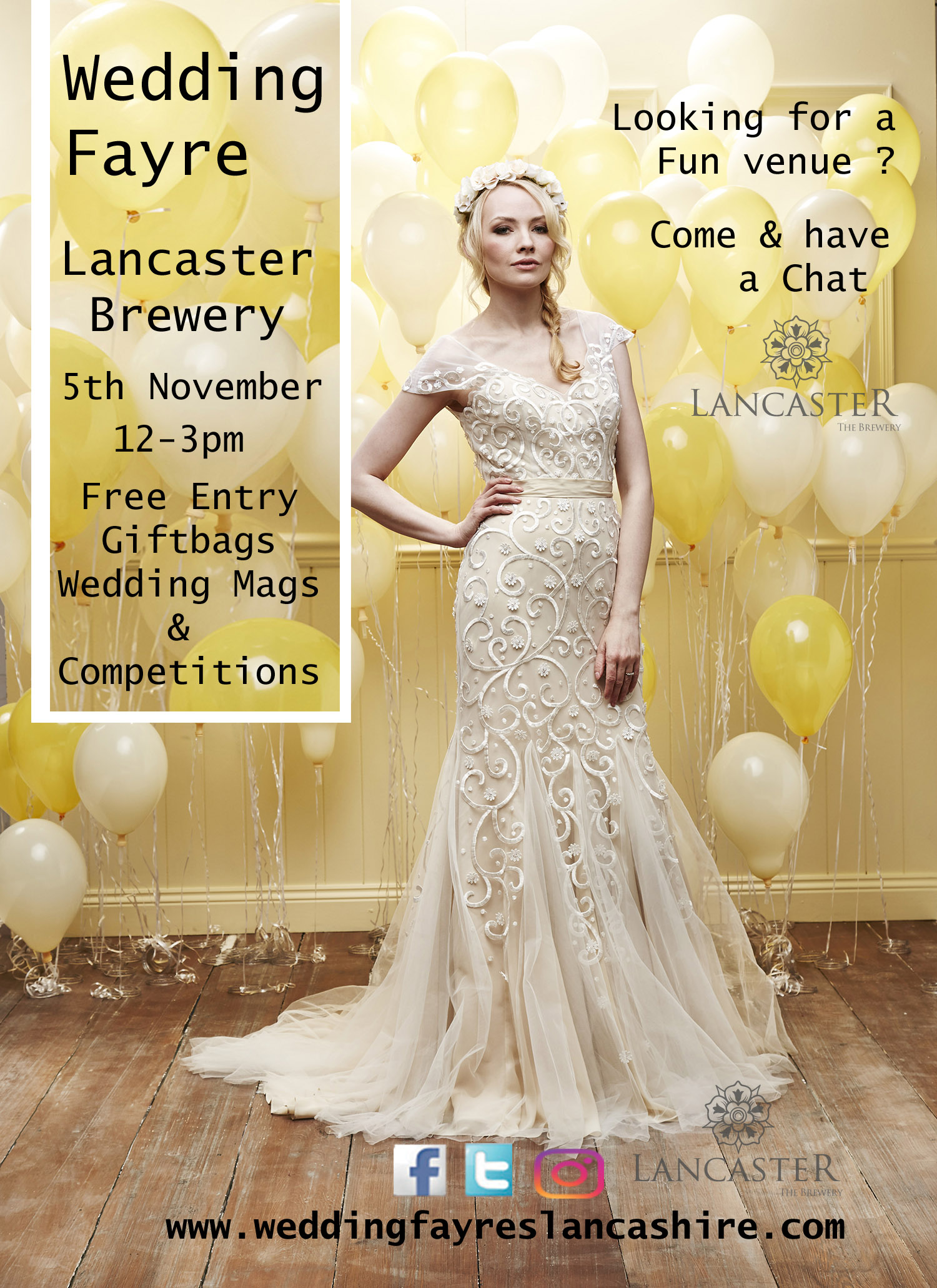 Wedding Fayre Lancaster Brewery - Lancaster
